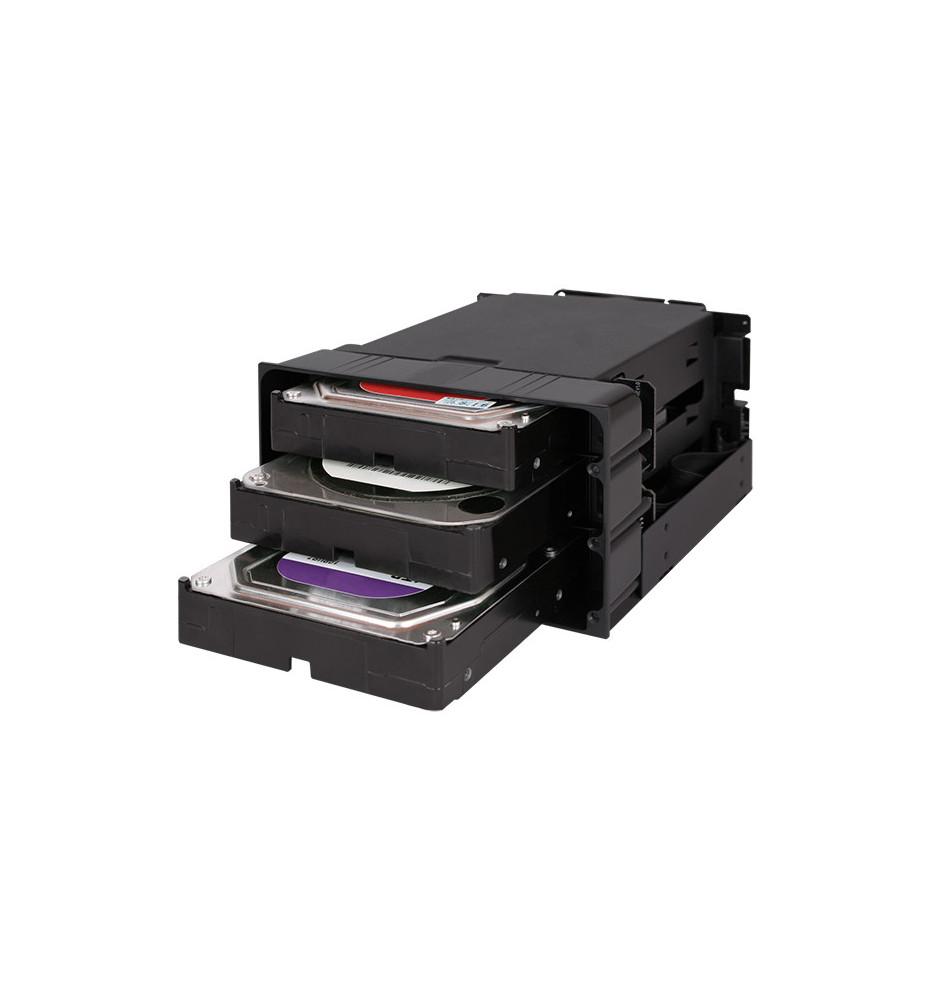 """Kieszeń 3 x 3.5"""" SATA/SAS Hard Drive w 2 x 5.25 flexiDOCK MB830SP-B"""