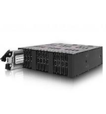 "Metalowa kieszeń 12x M.2 SATA SSD do 3x MiniSAS HD w 1x 5.25"" (MB872MP-B)"