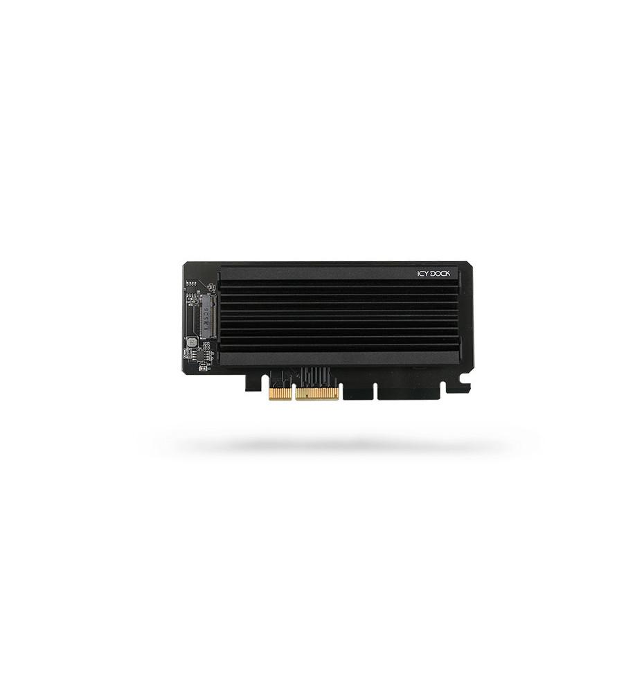 Adapter 1 x M.2 NVMe SSD to PCIe 3.0 x4 z radiatorem (EZConvert Ex Pro MB987M2P-2B)