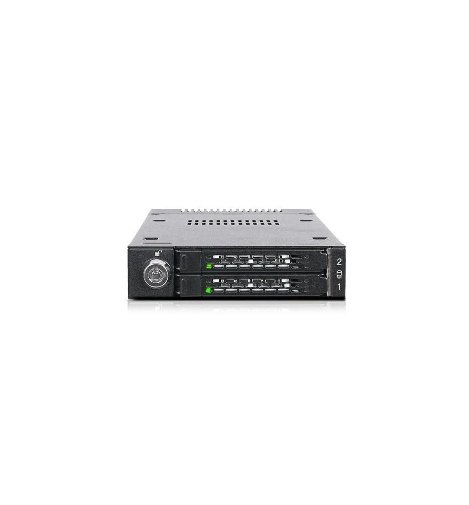 "Kieszeń 2x M.2 PCIe NVMe SSD do zatoki 3.5"" (ToughArmor MB834M2K-B)"