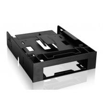 """FLEX-FIT Trio MB343SP Kieszeń z zatoką 3.5"""" do 5.25"""" z dodatkowymi zatokami 2 x 2.5"""" HDD/SSD"""
