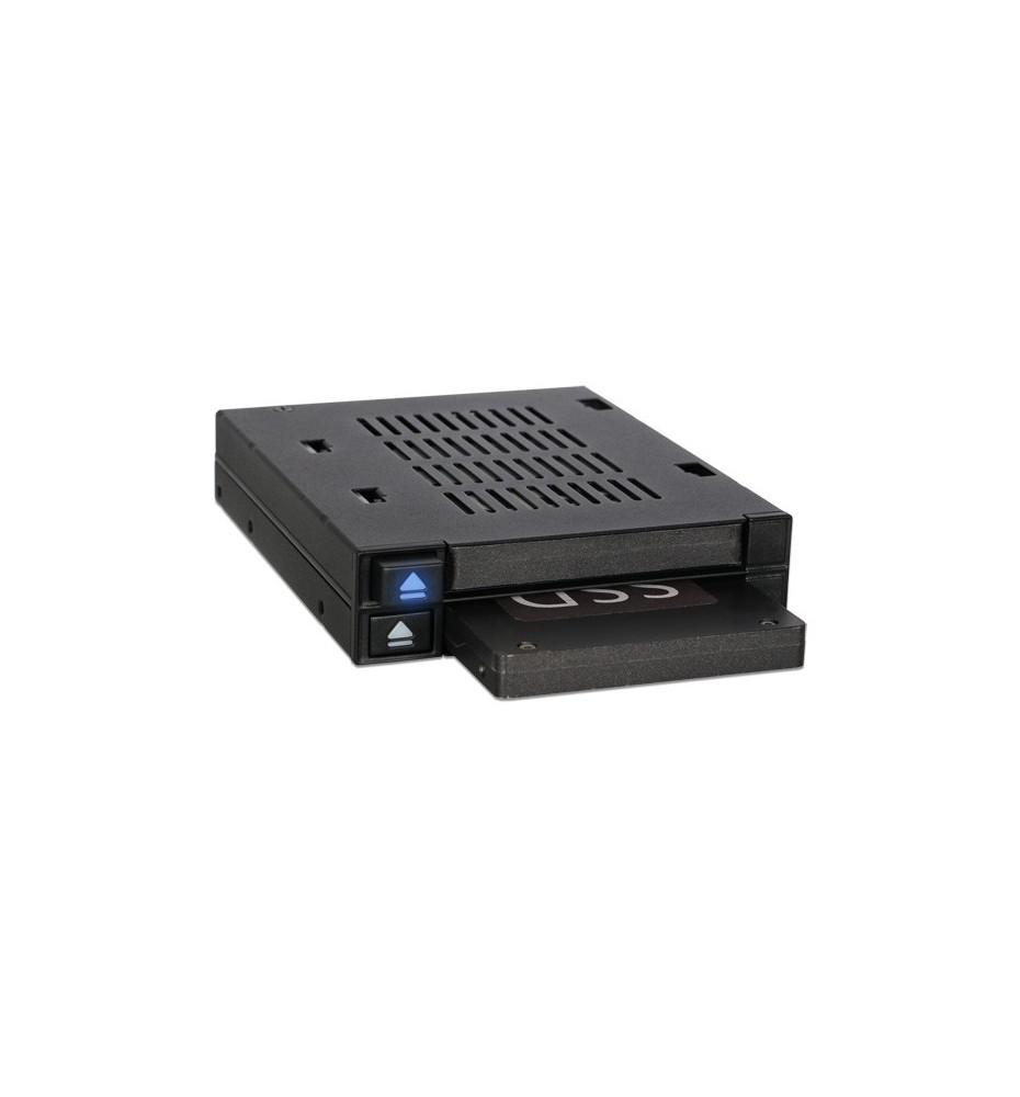 """flexiDOCK MB522SP-B Dwudyskowa 2.5 SATA / SAS SSD/ HDD Stacja Hotswap / Kieszeń do 3.5"""" Zatoki"""