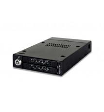 """ToughArmor MB992SKR-B 2-Dyskowa Wewnętrzna Kieszeń RAID 2.5"""" SATA HDD & SSD do Zatoki 3.5"""""""