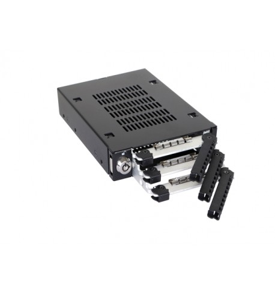 "ToughArmor MB993SK-B 3-Dyskowa Kieszeń 2.5"" SAS/SATA HDD & SSD"