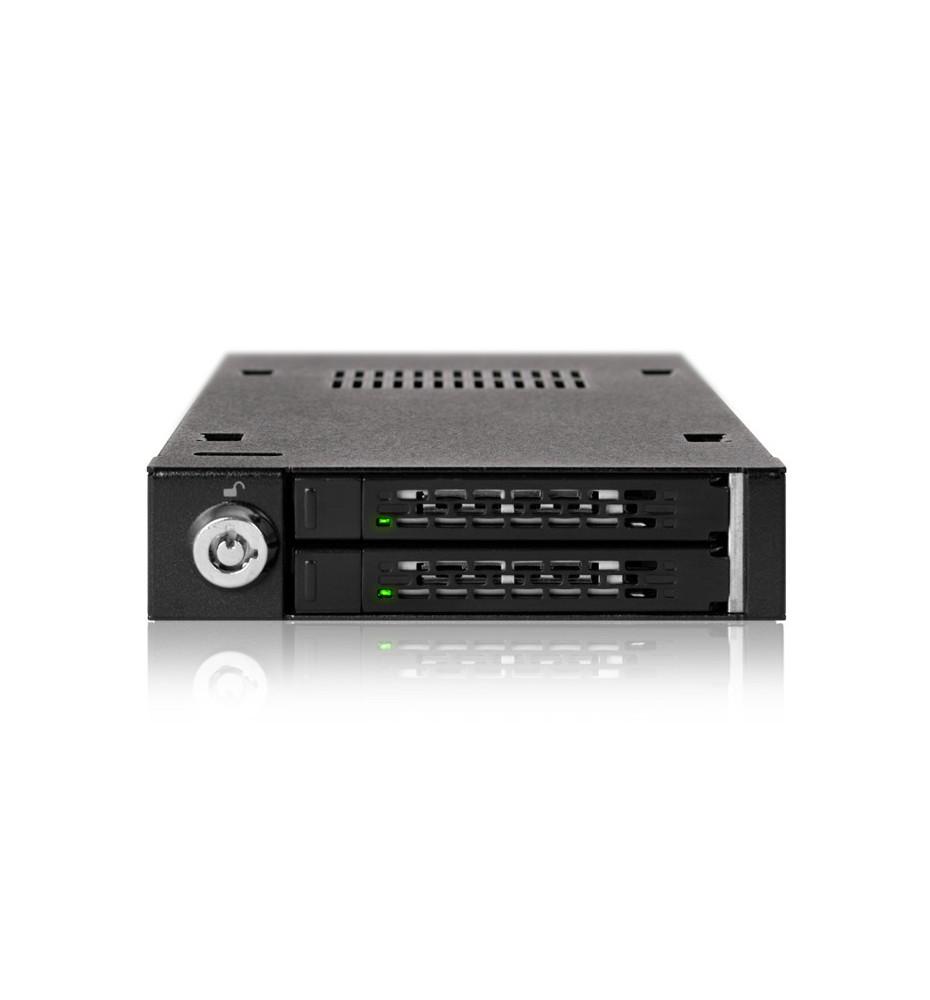 "ToughArmor MB992SK-B Metalowa 2-Dyskowa Kieszeń 2.5"" SATA/SAS HDD & SSD"