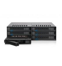 """ExpressCage MB326SP-B 6-Dyskowa 2.5"""" SAS/SATA HDD & SSD Hot Swap Wewnętrzna Obudowa 5.25"""""""